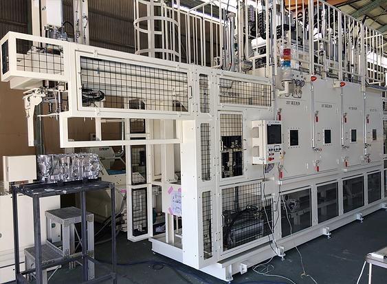 ロボット高圧洗浄機